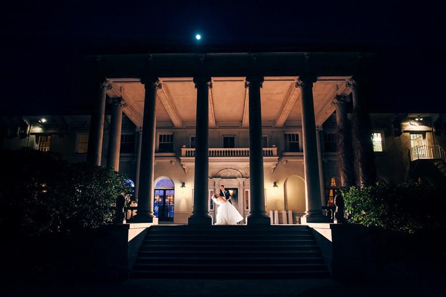 groom and bride dance